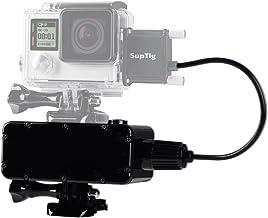 Suptig 5200mAh Waterproof Power Bank for GoPro Hero 6 Hero 5 Hero 4 Hero 3+ Hero3 Hero 4 Session Hero 5 Session and Yi Act...