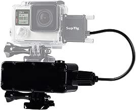Suptig 5200mAh Waterproof Power Bank for GoPro Hero 6 Hero 5 Hero 4 Hero 3+ Hero3 Hero 4 Session Hero 5 Session and Yi Action Sj Camera Digital Camera and Smartphone
