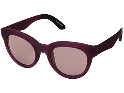 TOMS TRAVELER by TOMS Florentin (Berry/Cruxite) Fashion Sunglasses