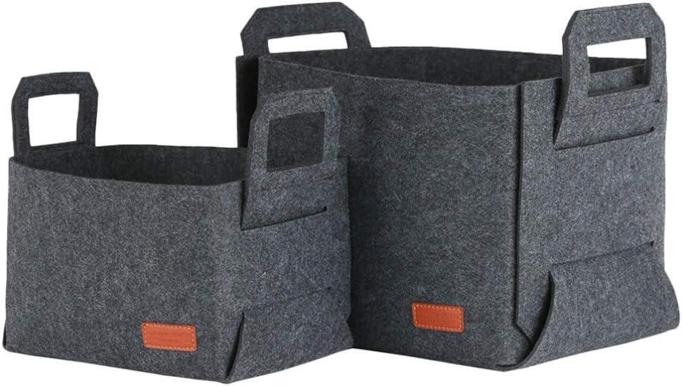 Cabilock 2pcs Storage Basket Baby Import Laundr Collapsible 2021 new Felt