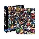 Aquarius DC Comics Faces 1000 pc Puzzle