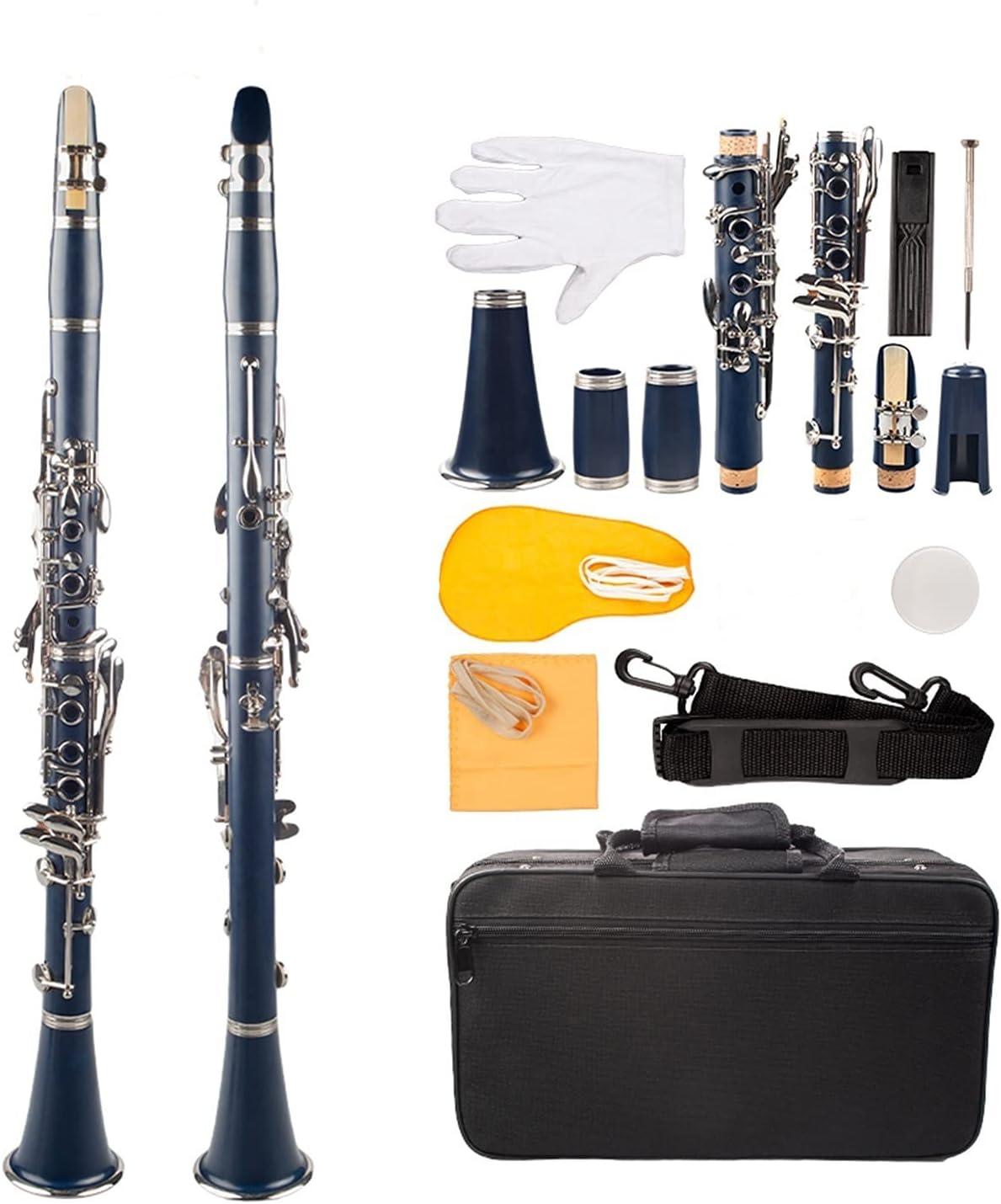 Clarinet Professional Japan Maker New Bb ABS Cupronickel Boston Mall Plate