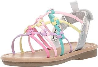 Kids Girl's Edina Metallic Strappy Sandal