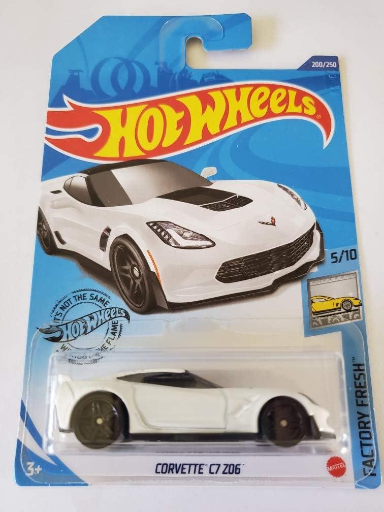 2021 HOT WHEELS '64 Corvette Sting Ray White Case F '19 Corvette ZR1 Convertible