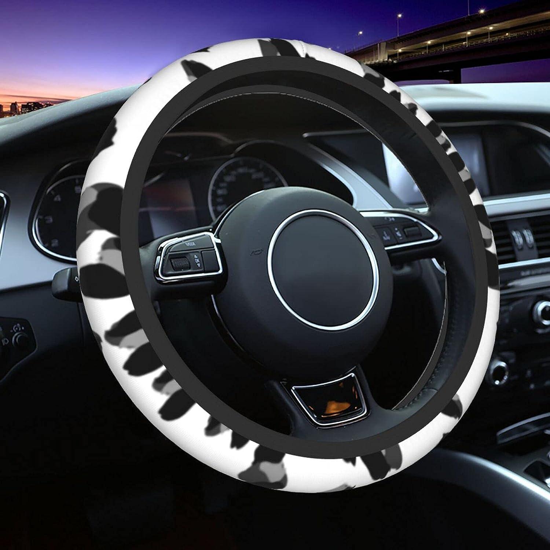Leopard Car Steering Wheel Cover B Men Women Columbus Mall for supreme Accessories