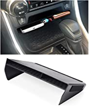HRTECH for 2019-2020 Toyota RAV4 Accessories Center Console Organizer Tray, Gear Shift Storage Box Insert Divider, Double Layers Non-Slip Organizer for Cellphone, Wallets, Cards, Chewing Gum