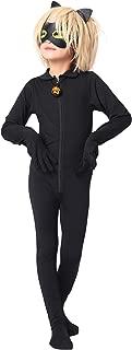 Modi Kid's Ladybug Cat Noir Cosplay Jumpsuit Boy's Girls Costume for Halloween Christmas Party Jumpsuit