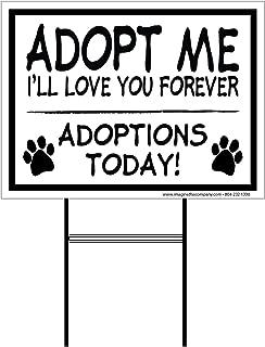 Best pet adoption signs Reviews