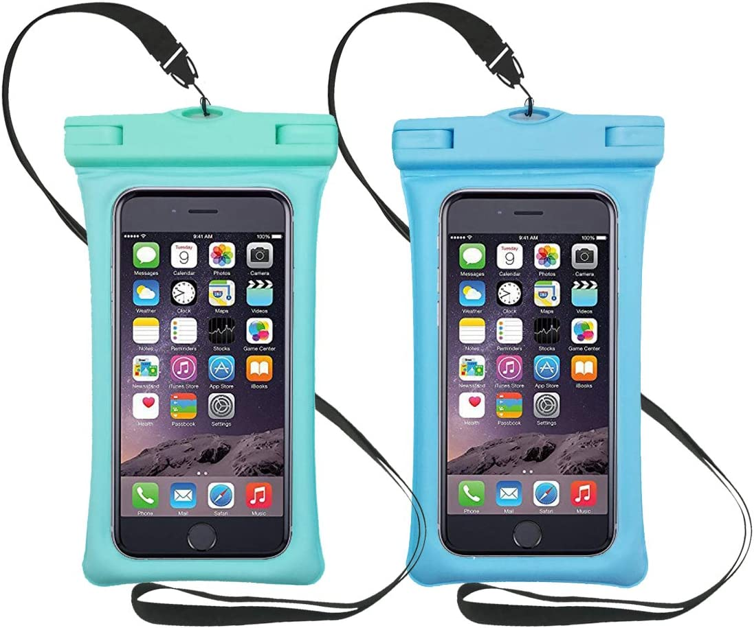 LongDear Universal Floating Waterproof Case,Cell Phone Pouch Dry Bag for iPhone 12 Pro Max 11 Pro Max Xs Max/Xr/X/8/8plus/7/7plus Galaxy s9/s8 Note 9/8 Google Pixel up to 7.0