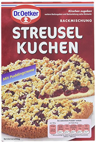 Dr. Oetker Streusel Kuchen, 8er Pack (8 x 485 g)