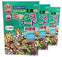 (まとめ買い)マルカン リス・ハムの主食ミックスフードお徳用 500g MR-544 【×3】