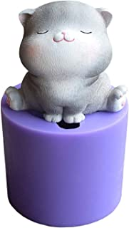 Cat Soap Molds, Pet Cats Gumpaste Cake Mold Baby Cat Molds for Fondant Cake Decorating Tools Cupcake Decorating Soap Mold Candle Mold by Runloo (1#)