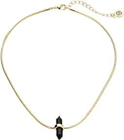 House of Harlow 1960 - Dainty Single Crystal Choker