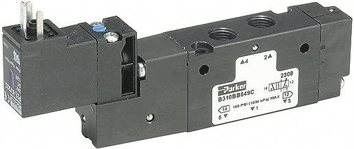 Solenoid Air Control Valve, 1/4 In, 24VDC