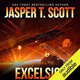 Excelsior                   By:                                                                                                                                 Jasper T. Scott                               Narrated by:                                                                                                                                 James Patrick Cronin                      Length: 12 hrs and 56 mins     11 ratings     Overall 3.8