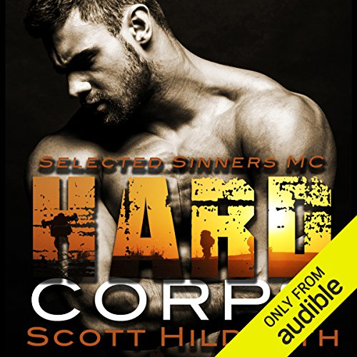 Hard Corps audiobook cover art