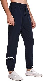 Sykooria Pantalones de Chándal de Algodón para Hombre Pantalones Deportivos Suaves para Correr Gimnasio Fitness Jogging