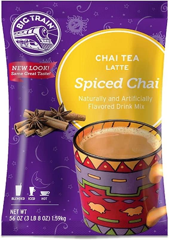 Big Train Spiced Chai Tea Latte 3 5 Lb 1 Count Powdered Instant Chai Tea Latte Mix Spiced Black Tea With Milk For Home Caf Coffee Shop Restaurant Use