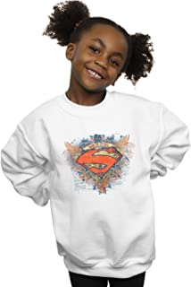 DC Comics Girls Superman Wings Shield Sweatshirt