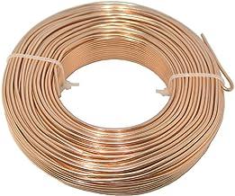 Alambre de aluminio/Bonsai alambre cobre 2mm/500Gramos (aprox. 50metros)