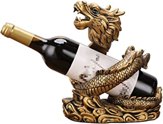 Sculpture de bureau Feng Shui Dragon Casier À Vin Ornements Bouteille De Vin Plateau Bureau Bureau Armoire À Vin Décoratio...