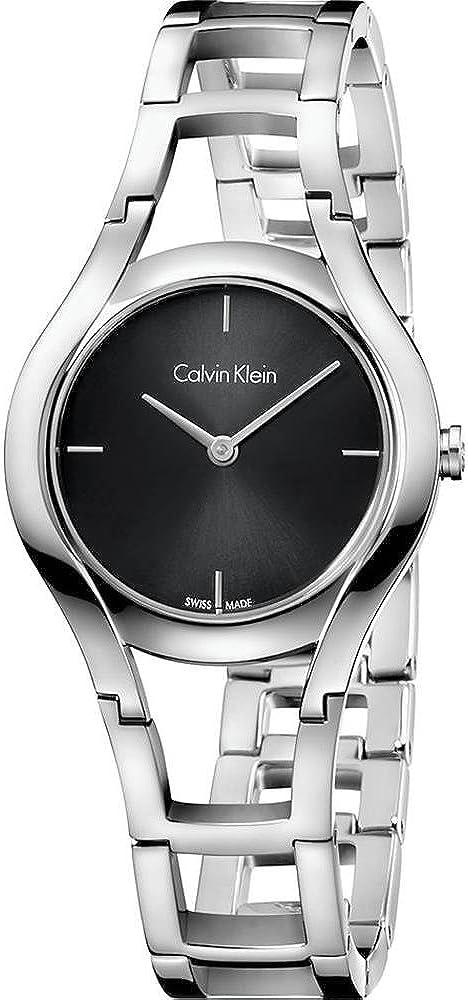 Calvin klein, orologio per donna , in acciaio inossidabile K6R23121