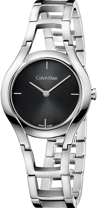 Calvin Klein Reloj Analogico para Mujer de Cuarzo con Correa en Acero Inoxidable K6R23121