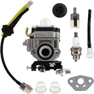 USPEEDA Carburetor for Troy-Bilt TB2BP EC Snapper BB44 27cc Backpack Blower Carb Fuel Line Kit