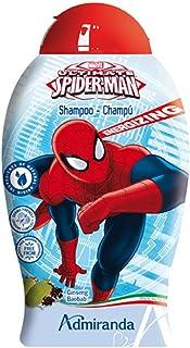 Marvel 73641 Shampoo, Spider-Man, Ginseng e Baobab, Rosso