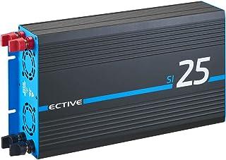ECTIVE 2500W 24 V sinusomvormer naar 230V SI 25 met een zuivere sinusgolf in 7 varianten