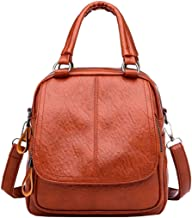 Women's Girl Vintage Leather School Bag Backpack Satchel Student Travel Shoulder Bag by-NEWONESUN