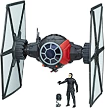 Star Wars Force Link First Order Special Force TIE Fighter & Fighter Pilot | Force Link activated vehicle and figurine sounds | Projectiles and Blast-Off wings