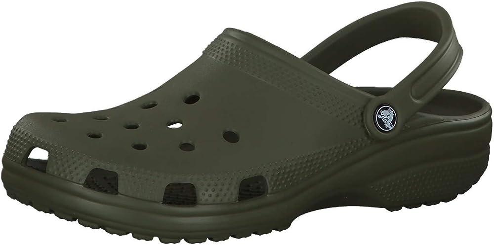 Crocs classic clog zoccoli unisex – adulto 100% croslite 10001R