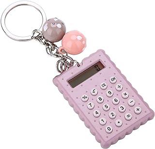 Mini Calculator met sleutelgesp, Sleutelhanger Design Calculator Draagbare Leuke Cookies Stijl, Pocket Calculator, Beste G...