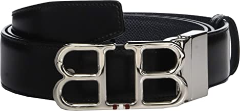 Bally Men's Adjustable/Reversible Double B Belt