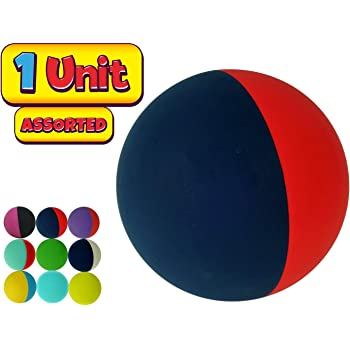 and a Small Bouncy Ball Item #976-6p JA-RU Rubber Pink Bouncing Ball Pack of 6