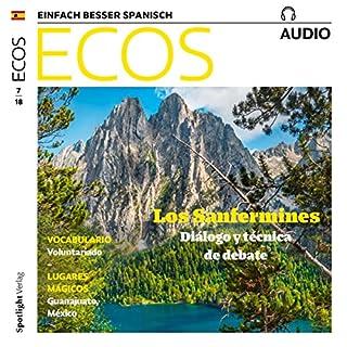 Ecos Audio - Los Sanfermines. Diálogo y técnica de debate. 7/2018 Titelbild