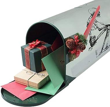 Human Skeleton Mailbox Stickers style1 52.8x64.8cm