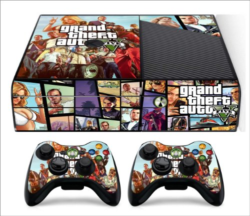 GTA 5. Xbox 360 E. SKIN (H)