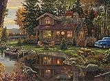 Buffalo Games - Kim Norlien - Peace Like A River - 1000 Piece Jigsaw Puzzle