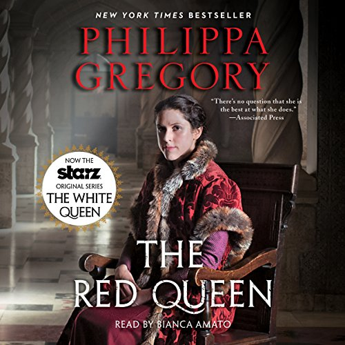 The Red Queen audiobook cover art