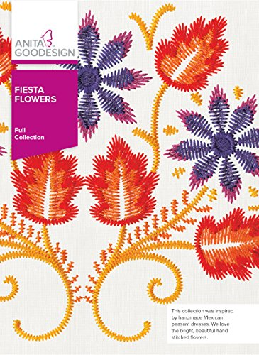 Anita Goodesign Full Fiesta Flowers 288 AGHD