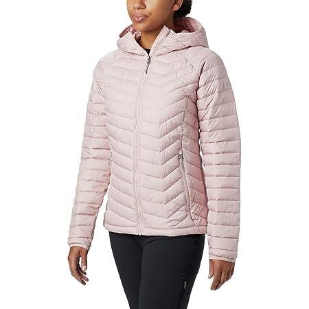 Columbia Powder Lite Hooded Jacket Women, Dusty Pink 2019 Chaqueta