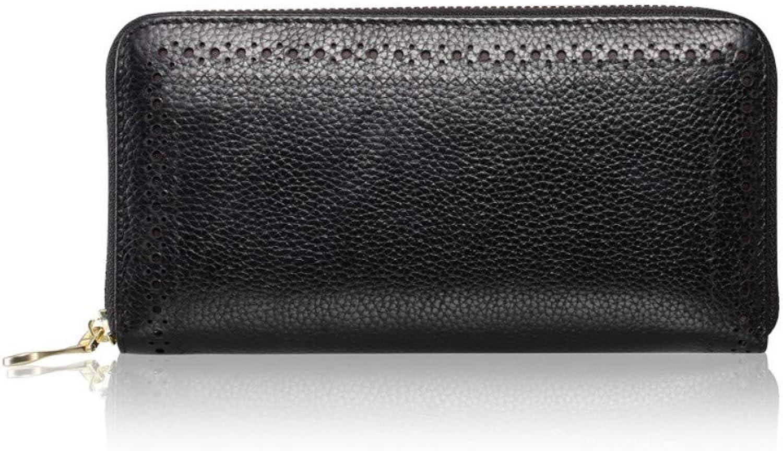 KASNDJ Leder Geldbörse Frauen Frauen Frauen Luxus Marke Geldbörse Damen Lange Reißverschluss Geldbörsen Handy Brieftasche Weibliche Kartenhalter Brieftaschen B07PM2XS8L aa6a61