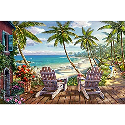 Puzzles for Adults 1000 Pieces Jigsaw Puzzle Toy Kid Large Puzzle Games - Seaside Scenery Puzzles,Prime,Artwork for Home Decoration,Office Wall Decoration Painting,Gifts