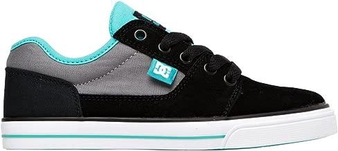 DC Shoes Bristol B Shoe Kbu - Zapatillas de Deporte de Otras Pieles niño