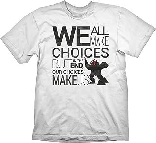Bioshock T-Shirt Quote Vintage, L - [Edizione: Germania]