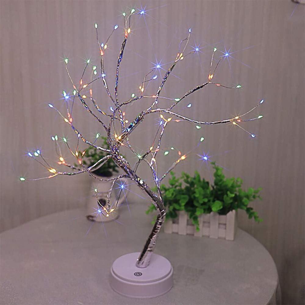 SUPREPOWER Copper Wire Regular discount Tree Light DIY Desk LE Led Lamp Excellent 108