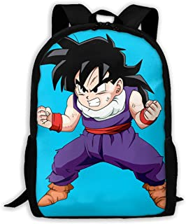 Custom Dragon Ball Young Goku Casual Backpack School Bag Travel Daypack Gift