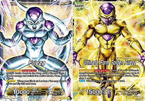 Dragon Ball Super TCG - Frieza // Ultimate Form Golden Frieza - Series 1 Booster Galactic Battle - (Series 1 Booster: Galactic Battle) - BT1-083